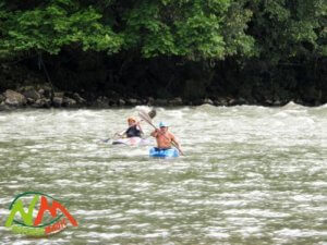 Sangay kayaking